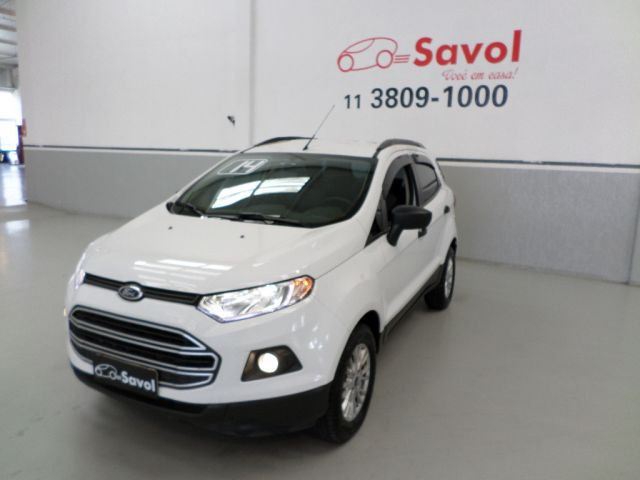 Ford Ecosport SE PowerShift 2.0 Branco 2014}