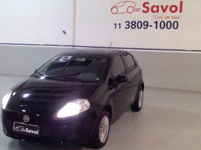 Fiat Punto Attractive 1.4 Flex Preto 2012}