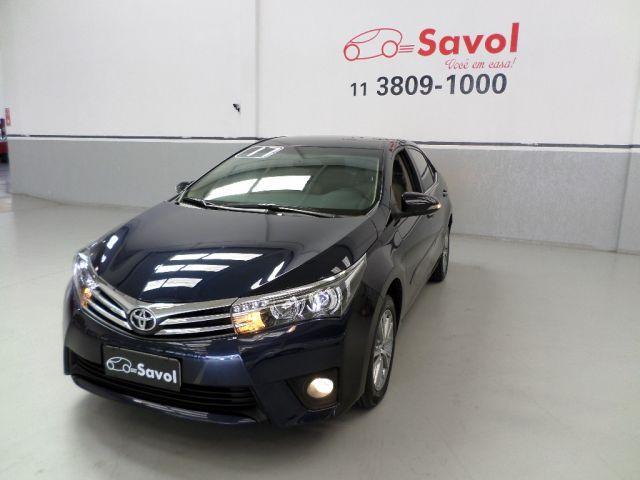 Toyota Corolla Altis 2.0 16V Flex Azul 2017}