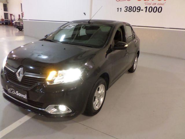 Renault Logan Dynamique 1.6 8V Flex Preto 2015}