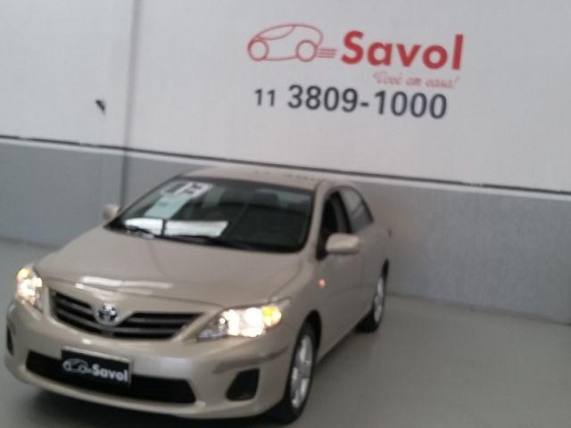 Toyota Corolla GLI 1.8 16V Flex Bege 2013}