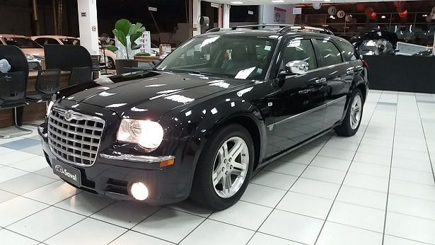 Chrysler 300 C Hemi Touring 5.7 V8 16V Preto 2007}