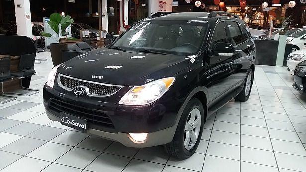 Hyundai Veracruz 4X4 3.8 Mpfi V6 24V Preto 2011}