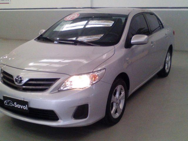 Toyota Corolla GLI 1.8 16V Flex Prata 2012}