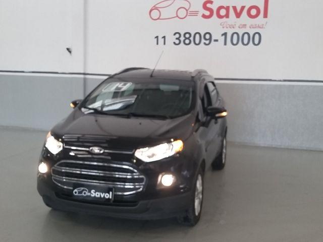Ford Ecosport Titanium 1.6 16V Flex Preto 2014}