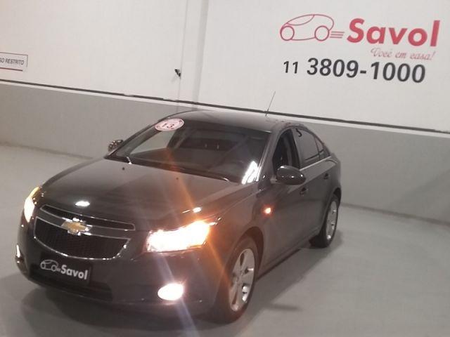 Chevrolet Cruze LT 1.8 Ecotec 16V Flex Cinza 2013}
