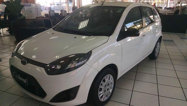Ford Fiesta 1.0 MPI 8V Flex Branco 2014}