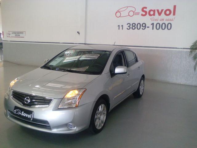 Nissan Sentra 2.0 16V Prata 2011}