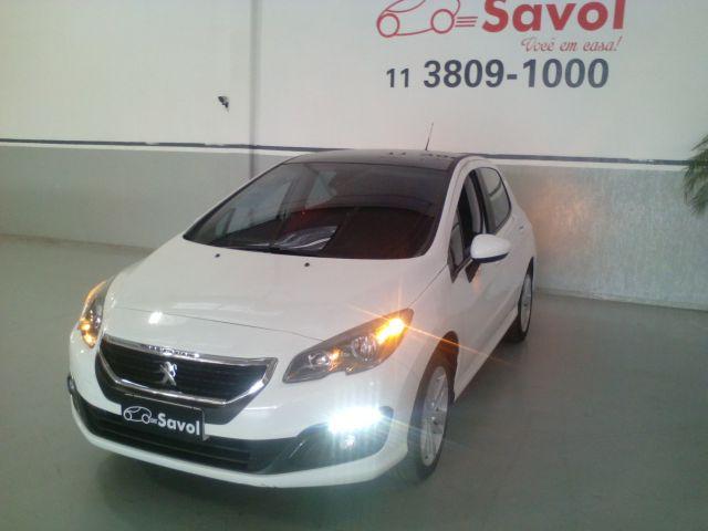 Peugeot 308 Allure 1.6 16V Flex Branco 2016}