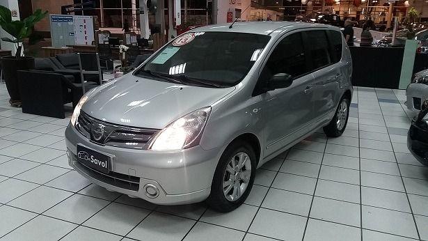 Nissan Livina S 1.6 16V Flex Prata 2013}