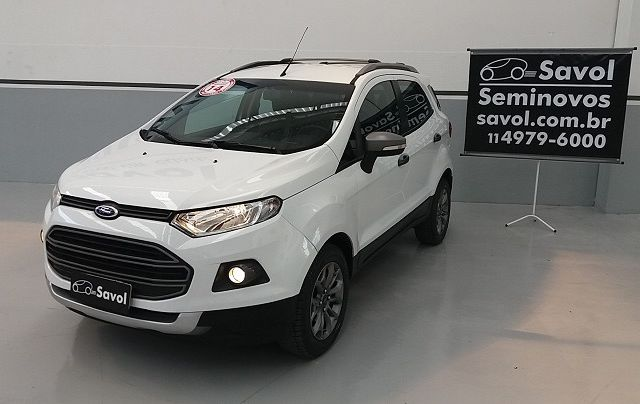 Ford Ecosport Freestyle 1.6 Flex Branco 2014}