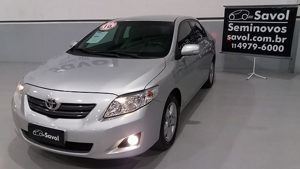 Toyota Corolla XEI 1.8 16V Prata 2010}