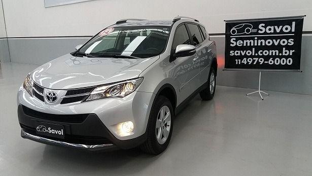 Toyota Rav4 4X4 2.0 16V Prata 2014}