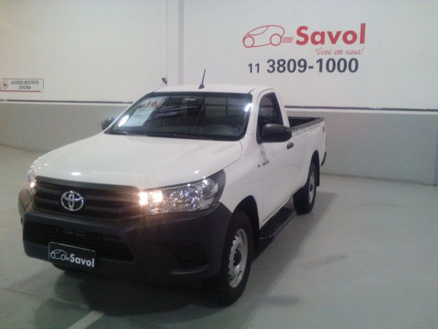 Toyota Hilux STD MT 4X4 2.8L 16V DOHC Branco 2016}