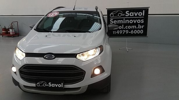 Ford Ecosport Freestyle 1.6 Flex Branco 2015}