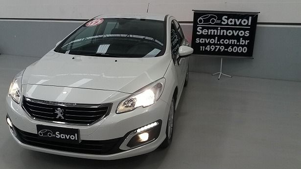 Peugeot 408 BUSINESS 1.6 16V Flex Branco 2017}