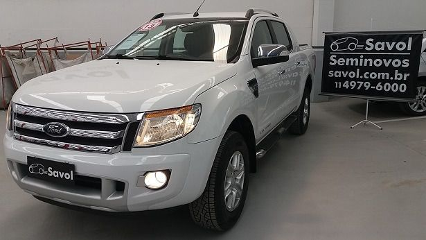 Ford Ranger Limited 4x4 CD 3.2 Branco 2013}