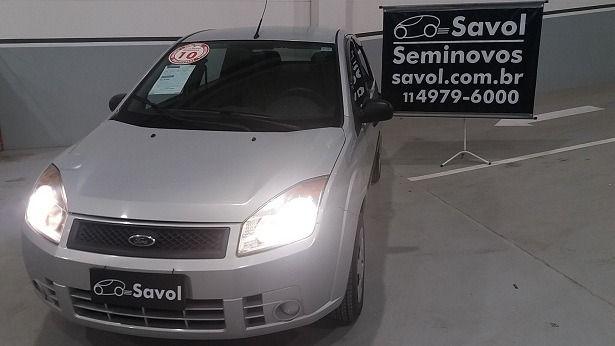 Ford Fiesta Sedan Rocam 1.6 8V Flex Prata 2010}