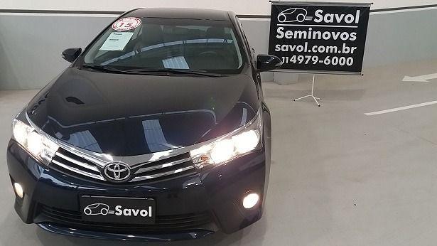 Toyota Corolla XEI 2.0 16V Flex Azul 2015}