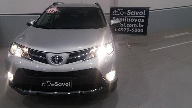 Toyota Rav4 4X2 2.0 16V Prata 2015}