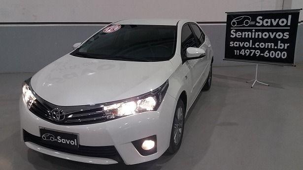 Toyota Corolla XEI 2.0 16V Flex Branco 2016}