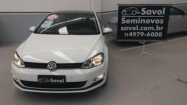 Volkswagen Golf Comfortline TSI 1.4 Mi 16V Branco 2015}