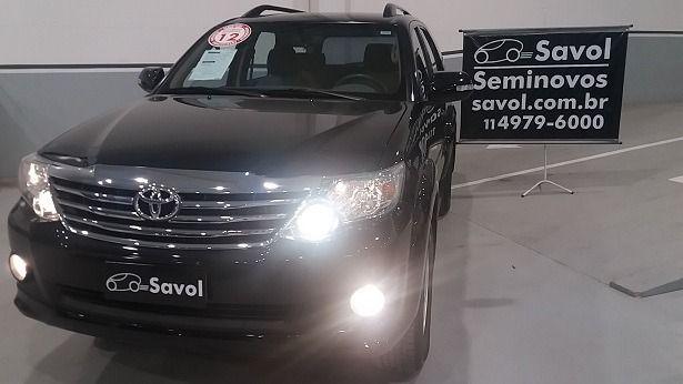 Toyota Sw4 SR 4X2 5 Lugares 2.7L 16V DOHC Dual VVT-i Preto 2012}