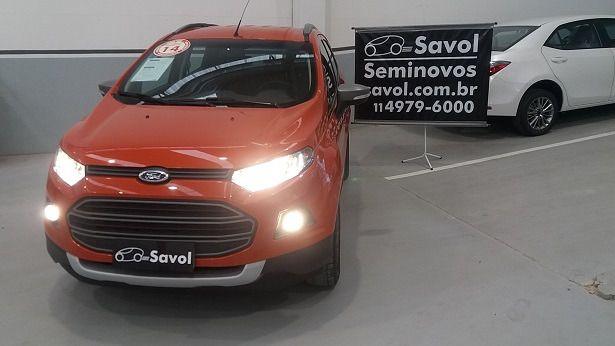 Ford Ecosport Freestyle 1.6 Flex Laranja 2014}