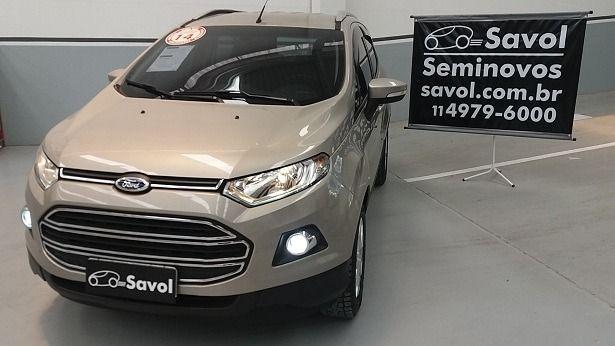 Ford Ecosport Titanium 2.0 16V Flex Prata 2014}
