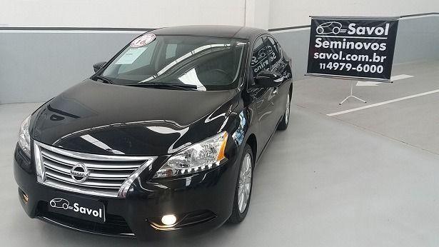 Nissan Sentra SL 2.0 16V Flex Preto 2016}