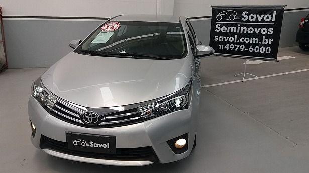 Toyota Corolla Altis 2.0 16V Flex Prata 2016}