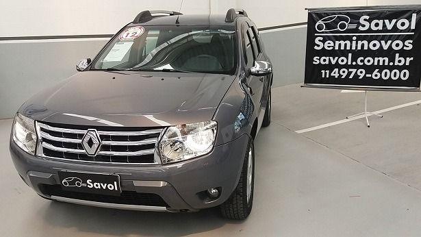 Renault Duster Dynamique 2.0 16V Hi-Flex Cinza 2012}