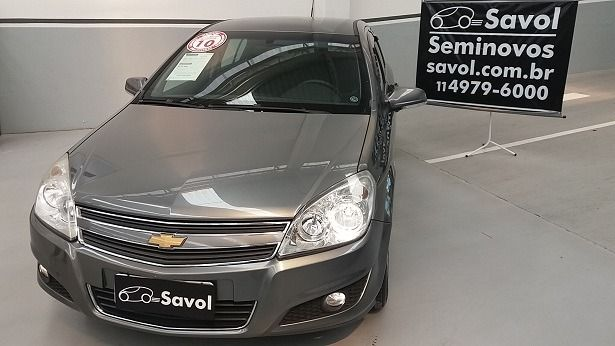 Chevrolet Vectra Expression 2.0 Mpfi 8V Flexpower Cinza 2010}