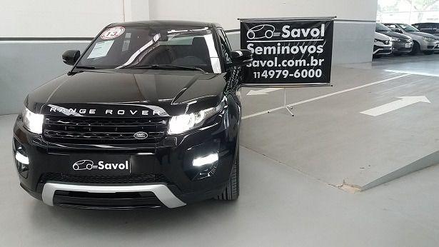 Land Rover Range Rover Evoque Dynamic SE 4WD 2.0 16V Preto 2013}