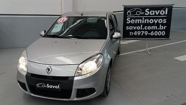 Renault Sandero Expression 1.6 8V Hi-Flex Prata 2012}