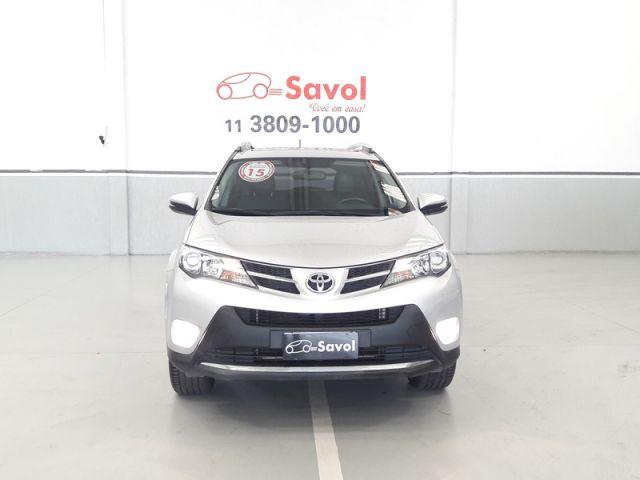 Toyota Rav4 4X4 2.5 16V Prata 2015}