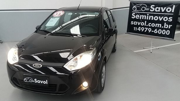 Ford Fiesta Sedan Class 1.6 MPI 8V Flex Preto 2013}