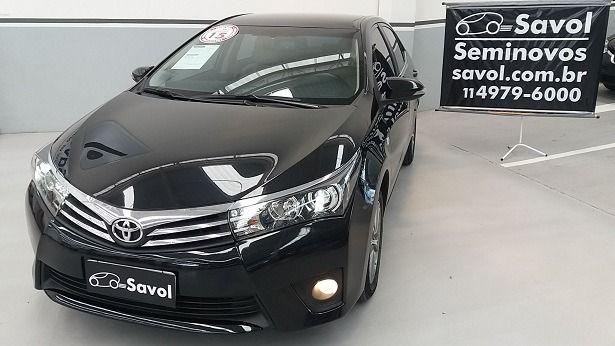 Toyota Corolla Altis 2.0 16V Flex Preto 2015}