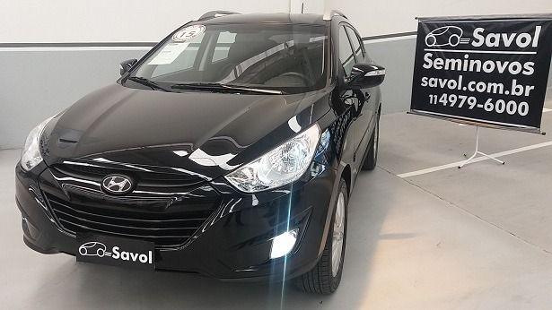 Hyundai Ix35 4X2 2.0 mpi 16V Flex Preto 2015}