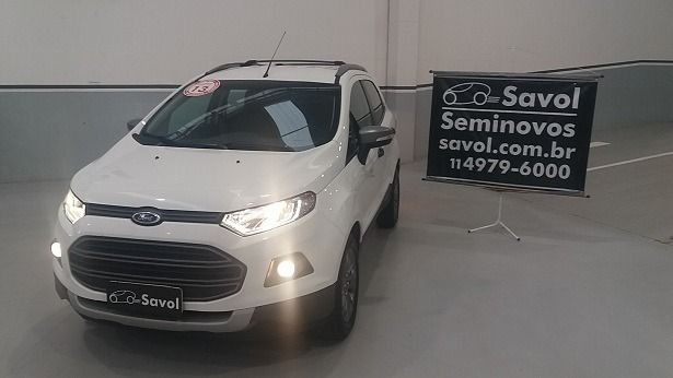 Ford Ecosport Freestyle 2.0 16V Flex Branco 2013}
