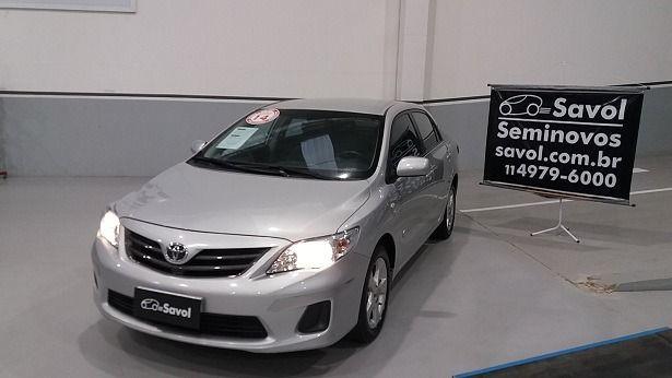 Toyota Corolla GLI 1.8 16V Flex Prata 2014}