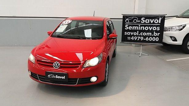 Volkswagen Gol Power I-Motion 1.6 Mi 8V Total Flex Vermelho 2011}
