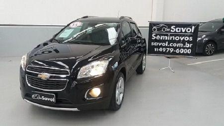Chevrolet Tracker LTZ 1.8 16V Ecotec Preto 2015}