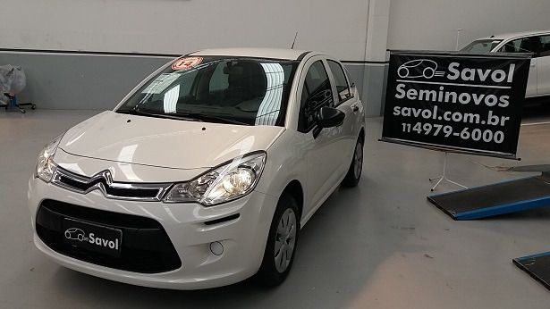Citroën C3 Origine 1.5i 8V Flex Branco 2014}