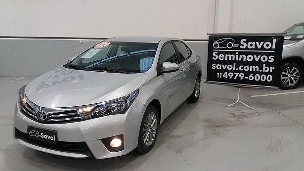 Toyota Corolla XEI 2.0 16V Flex Prata 2017}