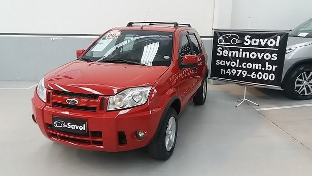 Ford Ecosport XLT 2.0 16V Vermelho 2008}