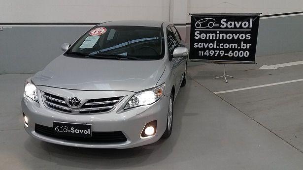 Toyota Corolla Altis 2.0 16V Flex Prata 2012}