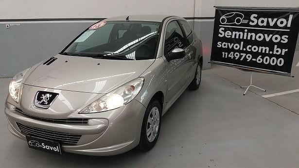 Peugeot 207 XR 1.4 8V Flex Prata 2013}