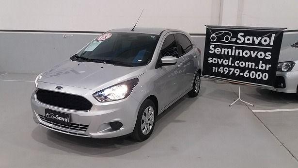Ford Ka SE 1.0 Prata 2015}