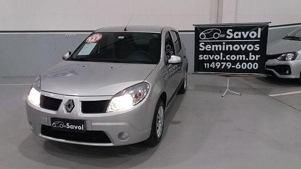 Renault Sandero Expression 1.6 8V Hi-Flex Prata 2011}